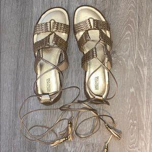 Michael Kors gladiator sandal (mint condition)
